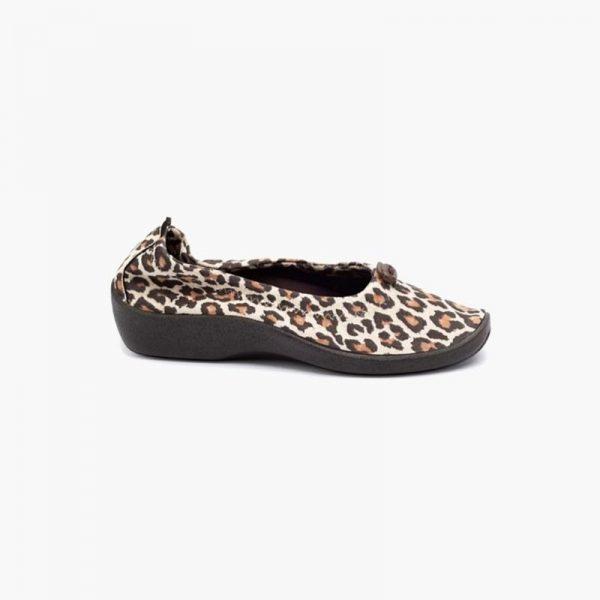 Arcopedico L14 Leopard Print Slip Ons