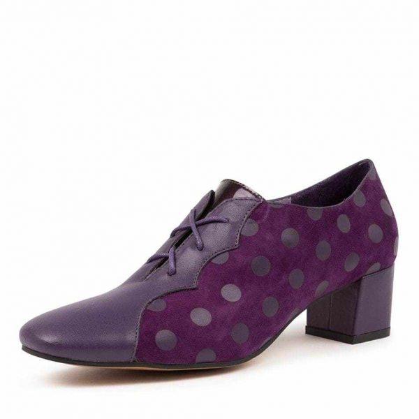 Hannah Purple Dot