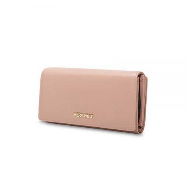 Vera May Blush Genuine Leather Wallet