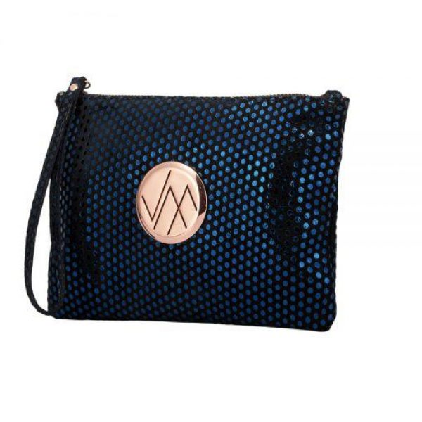 Vera May Gia Navy Clutch Bag
