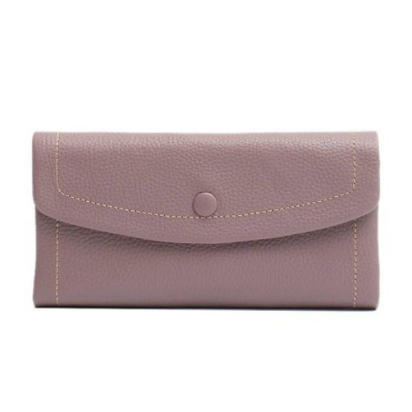Vera May Nonie Lilac Genuine Leather Wallet